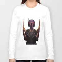 boba Long Sleeve T-shirts featuring Boba by Yewot