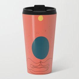 Dhyana mudra Travel Mug