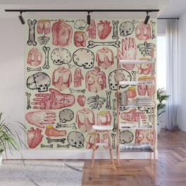 A lot of body parts Wall Mural