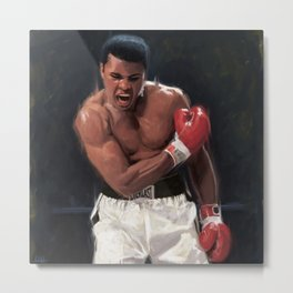 The Greatest Boxer Metal Print