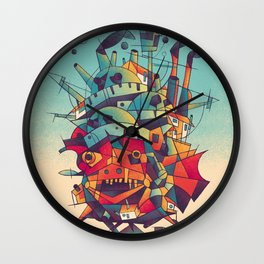 Moving Castle Wall Clock