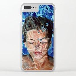 Ultramarine Clear iPhone Case