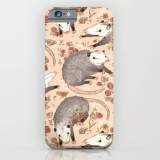 Opossum and Roses iPhone 6s Slim Case