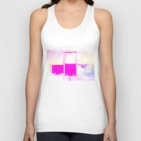 pulp Tank Tops featuring Pulp by PeDSchWork