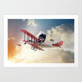 The Flying Circus Art Print