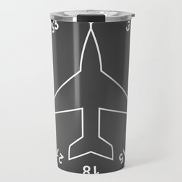 Directional Gyro Flight Instruments Travel Mug