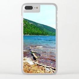 Jordan Pond Clear iPhone Case