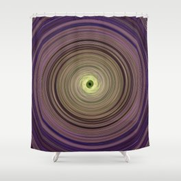 Colorful twirl Shower Curtain