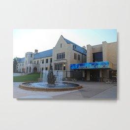 University of Toledo- Student Union II Metal Print