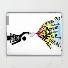 The Right way to use your mind Laptop & iPad Skin