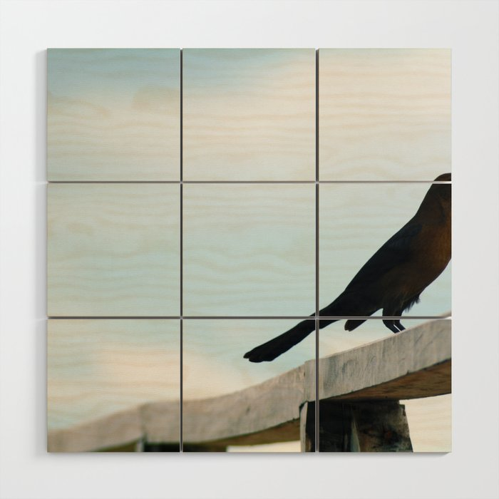 Bird collection _ 01 Wood Wall Art