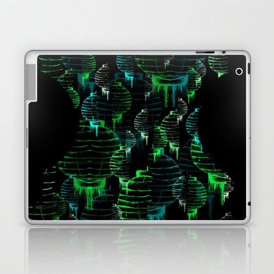 Lantern - green Laptop & iPad Skin
