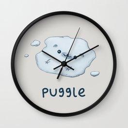 Puggle Wall Clock