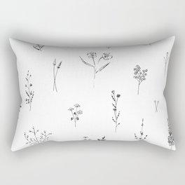 Wildflowers BIG Rectangular Pillow