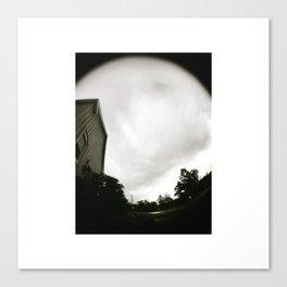 you're a storm; beautiful and destructive Canvas Print
