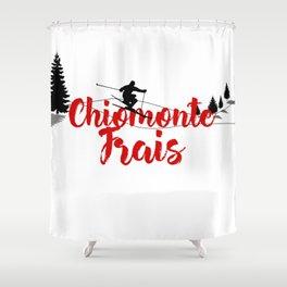 Ski at Chiomonte Frais Shower Curtain