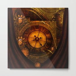 Awesome noble steampunk design Metal Print