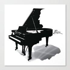 Pianist, Frédéric Chopin Canvas Print