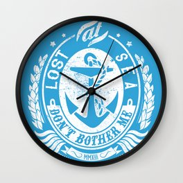 Don't bother me Wall Clock