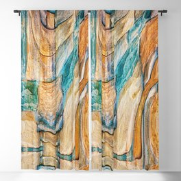 Southwest Desert Abstract Blackout Curtain