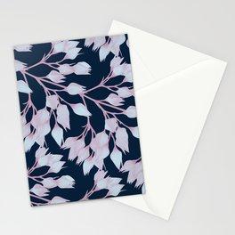 Winter Flower Buds Stationery Cards