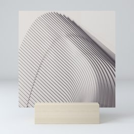 New York City, original fine photography, Manhattan, Oculus, Calatrava, World trade center, path Mini Art Print