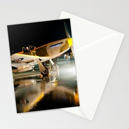 Flaming Mustang Stationery Cards