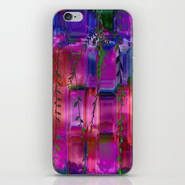 Infused colors iPhone Skin