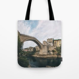 Mostar, Bosnia and Herzegovina Tote Bag