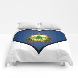 Love Vermont Comforters