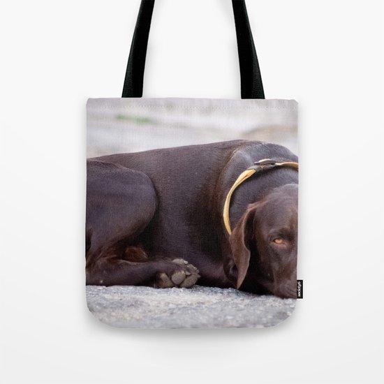 the hound dog Tote Bag