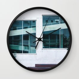 Find The Reflection Wall Clock