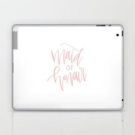 Pink Maid of Honour Laptop & iPad Skin
