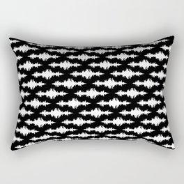 Sound of Thunder Rectangular Pillow