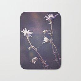 Forest Flannel Flowers Bath Mat
