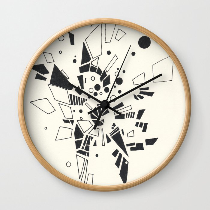 Composition #1 2016 Wall Clock