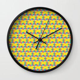 X pattern Wall Clock