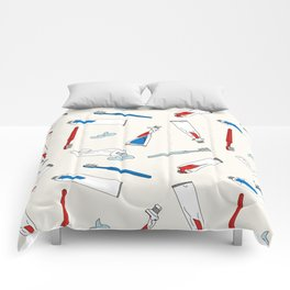 Toothpaste & Toothbrush Comforters