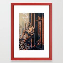 Pensivity Framed Art Print