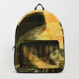 Laudanum, Vintage Advertisement Collage Backpack