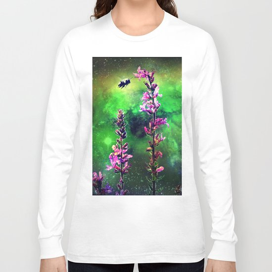 Bee Against The World Long Sleeve T-shirt