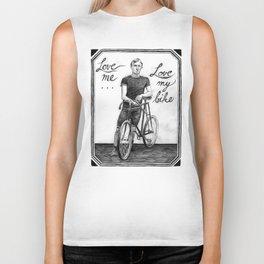 Love Me, Love My Bike Biker Tank