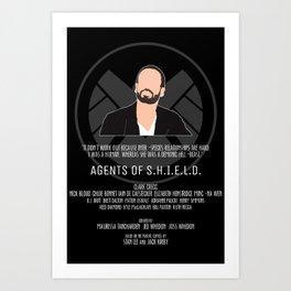 Agents of S.H.I.E.L.D. - Hunter Art Print