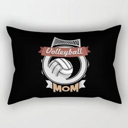 Volleyball Mom - Team Biggest Fan Mother Rectangular Pillow