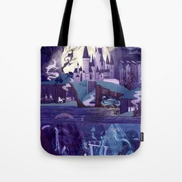 The Castle on the Hill Tote Bag