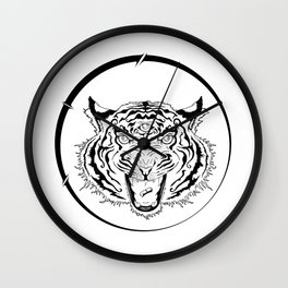 3rd Eye of the Tiger Wall Clock