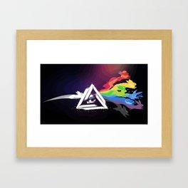 What you choose? Framed Art Print
