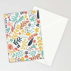 Forest Flora Stationery Cards