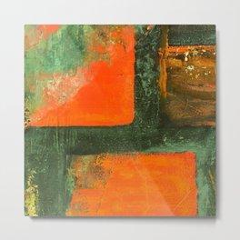 Orange is the new green Metal Print