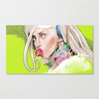 artrave Canvas Prints featuring ArtRAVE by Dafni
